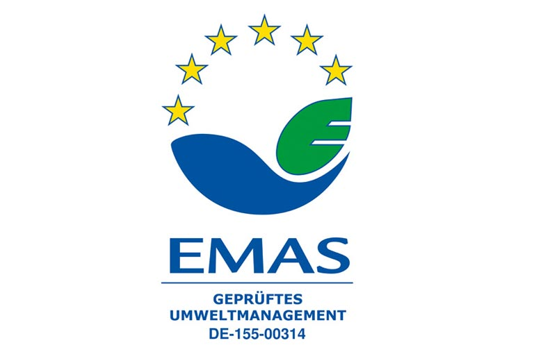EMAS Seal Verified Environmental Management
