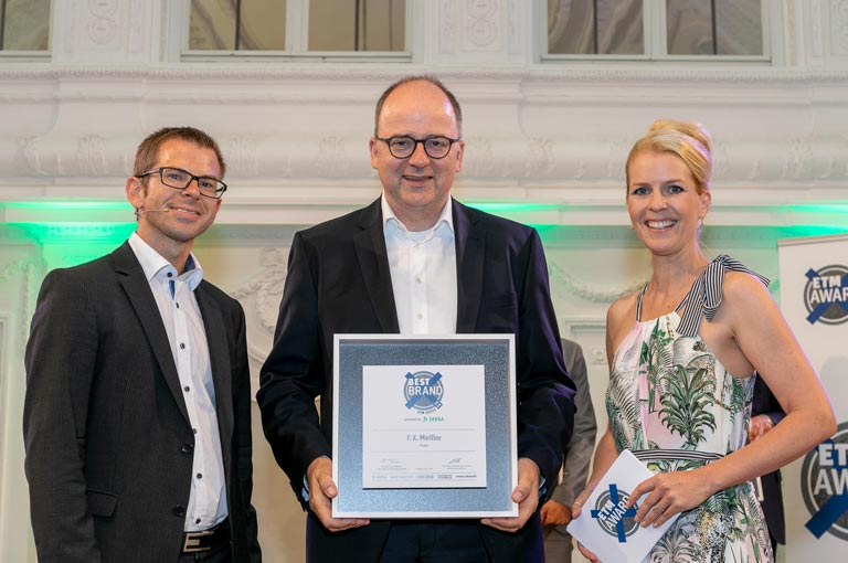 ETM Award Best Brand 2018 for MEILLER Kipper