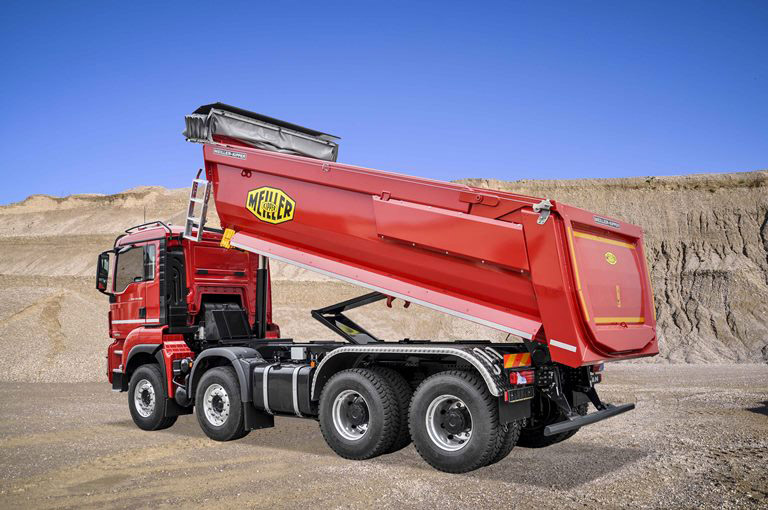 MEILLER rear tipper generation P