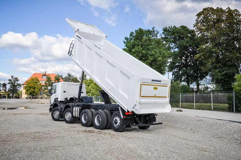 Rear tipper H550