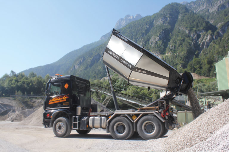 MEILLER asphalt tipper body
