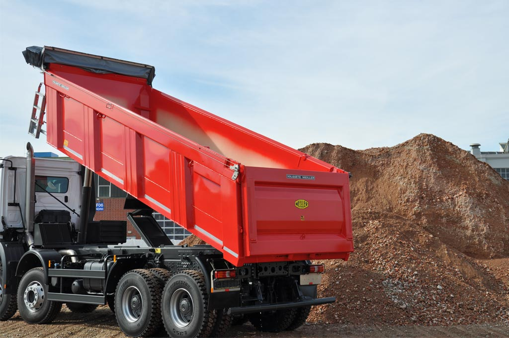 Rear tipper series H