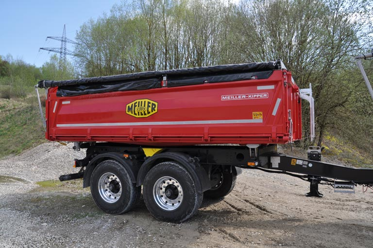 Centre-axle trailer MZDA18.23