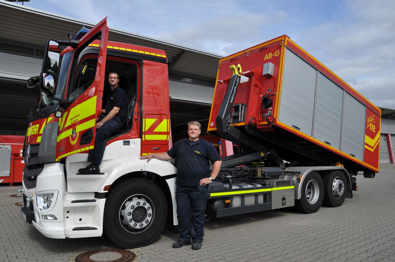 New RS21 at the Hofheim am Taunus volunteer fire brigade