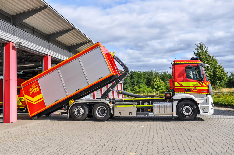 Fire brigade Hooklift RS21