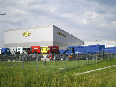 MEILLER factory in Niepolomice, Poland