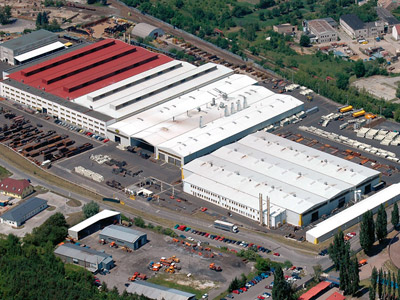 MEILLER factory in Slany, Czech Republic