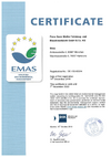 Environmental Management System according to EN ISO 14001:2009